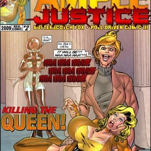 Ample Justice – Issue 2 Superheroine Central Comics