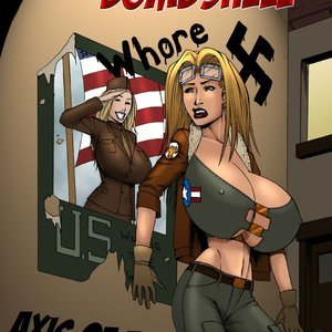 Busty Bombshell – Axis of Evil Superheroine Central Comics