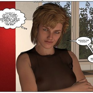 TG Comics College Life - Issue 3 gallery image-009