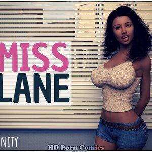 Miss Lane comic 001 image
