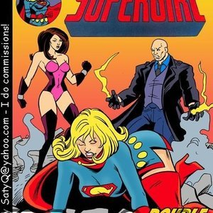 Supergirl Sex Slave comic 001 image