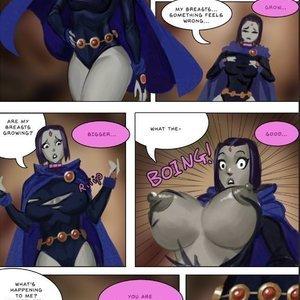 Horny Raven comic 001 image