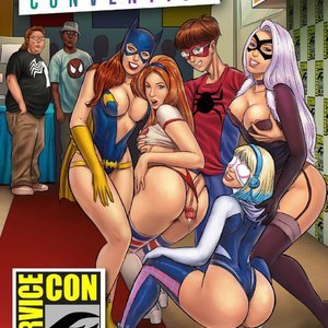 Fanservice Convention - Issue 1 comic 001 image