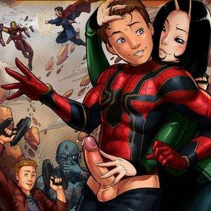 Spider-man Infinity War comic 001 image