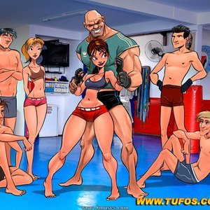 Learning From My MMA Trainer Tufos Comics