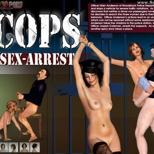 Cops. Part 2 Sex-Arrest Ultimate3DPorn Comics