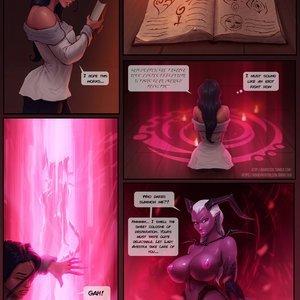 CYOA - Unholy Gifts comic 001 image
