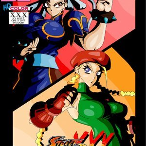 Street Fighter XXX comic 001 image