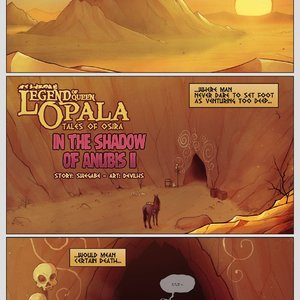 In the Shadow of Anubis - Issue 2 comic 001 image