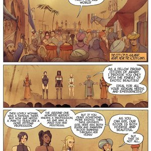Warhammer - It's a Pleasure to Serve comic 001 image