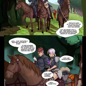 Tales of Beatrix - Knight and Mare comic 001 image