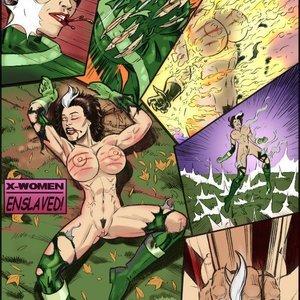 X-Women Enslaved comic 001 image