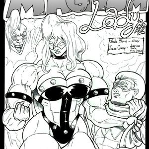 Magnum Lady - Issue 2 comic 001 image