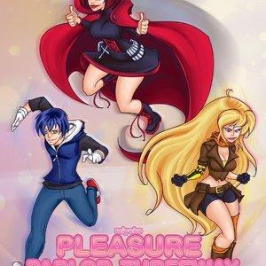 Pleasure Parlor Threeway comic 001 image