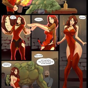 Tavern Incident comic 001 image