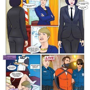Planet of the Women comic 001 image