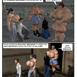 Muscle Gals Mob - Issue 3 comic 001 image