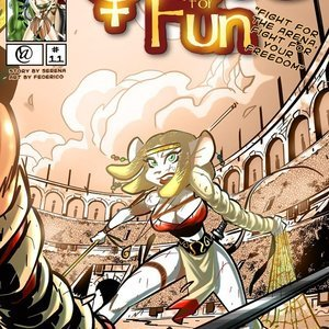 Quest for fun 11 Vixine Comics