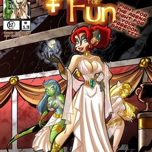 Quest for fun 13 Vixine Comics