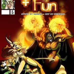 Quest for fun 2 Vixine Comics