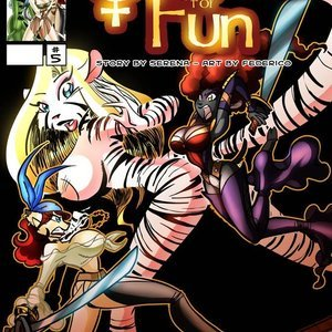 Quest for fun 5 Vixine Comics
