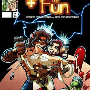 Quest for fun 6 Vixine Comics