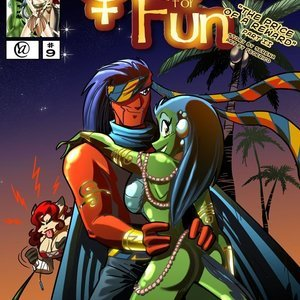 Quest for fun 9 Vixine Comics