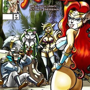 Reckless fur 2 Vixine Comics