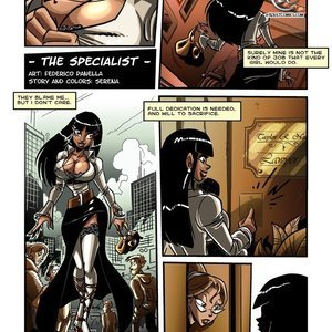 The Specialist Vixine Comics