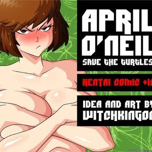 April ONeil – Issue 1 Witchking00 Comics