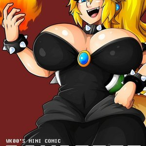 Bowsette – Issue 1 (Witchking00 Comics) thumbnail