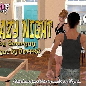 Crazy Night Your3DFantasy Comics