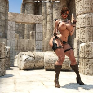 Lara Croft – Nude Raiding (ZZ2Tommy Comics) thumbnail
