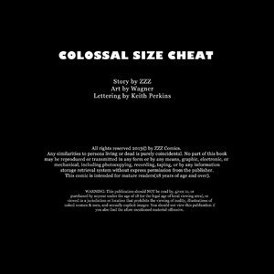 Colossal Size Cheat – Issue 1 (ZZZ Comics) thumbnail