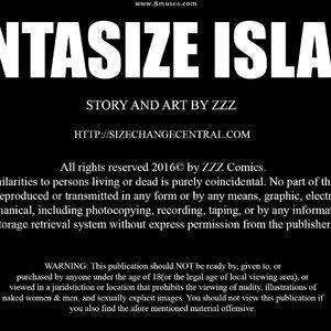 Fantasize Island - Issue 1 comic 001 image