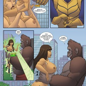 ZZZ Comics Goddesszilla - Issue 1 gallery image-020