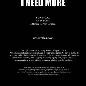 I Need More - Issue 1 image 002