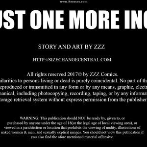 Just One More Inch – Issue 1 (ZZZ Comics) thumbnail