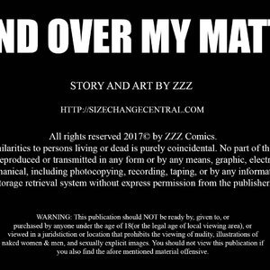 Mind Over My Matter – Issue 1 (ZZZ Comics) thumbnail