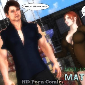 Mind Over My Matter - Issue 3 comic 001 image