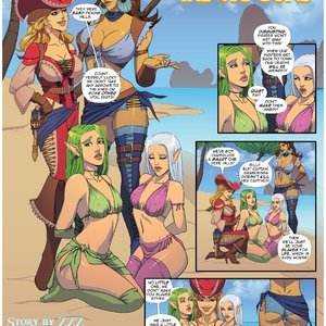 ZZZ Comics Thar BE GTS - Issue 1 gallery image-002