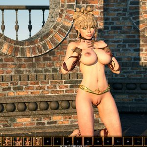 Black Lust Zuleyka 3D Comics
