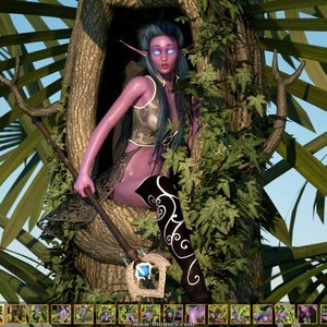 Zuleyka 3D Comics Goblins Fuck-Toy gallery image-001