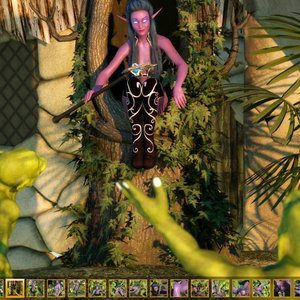 Zuleyka 3D Comics Goblins Fuck-Toy gallery image-002