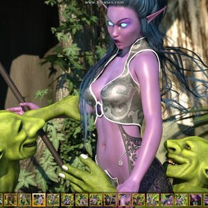 Zuleyka 3D Comics Goblins Fuck-Toy gallery image-004