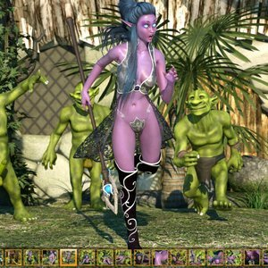 Zuleyka 3D Comics Goblins Fuck-Toy gallery image-005