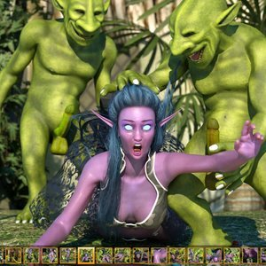 Zuleyka 3D Comics Goblins Fuck-Toy gallery image-006