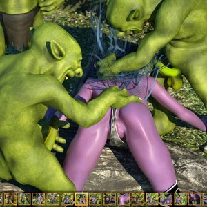 Zuleyka 3D Comics Goblins Fuck-Toy gallery image-007