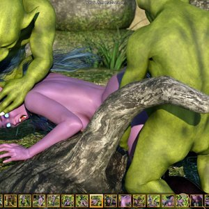 Zuleyka 3D Comics Goblins Fuck-Toy gallery image-008