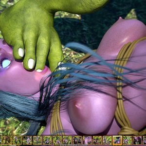 Zuleyka 3D Comics Goblins Fuck-Toy gallery image-013